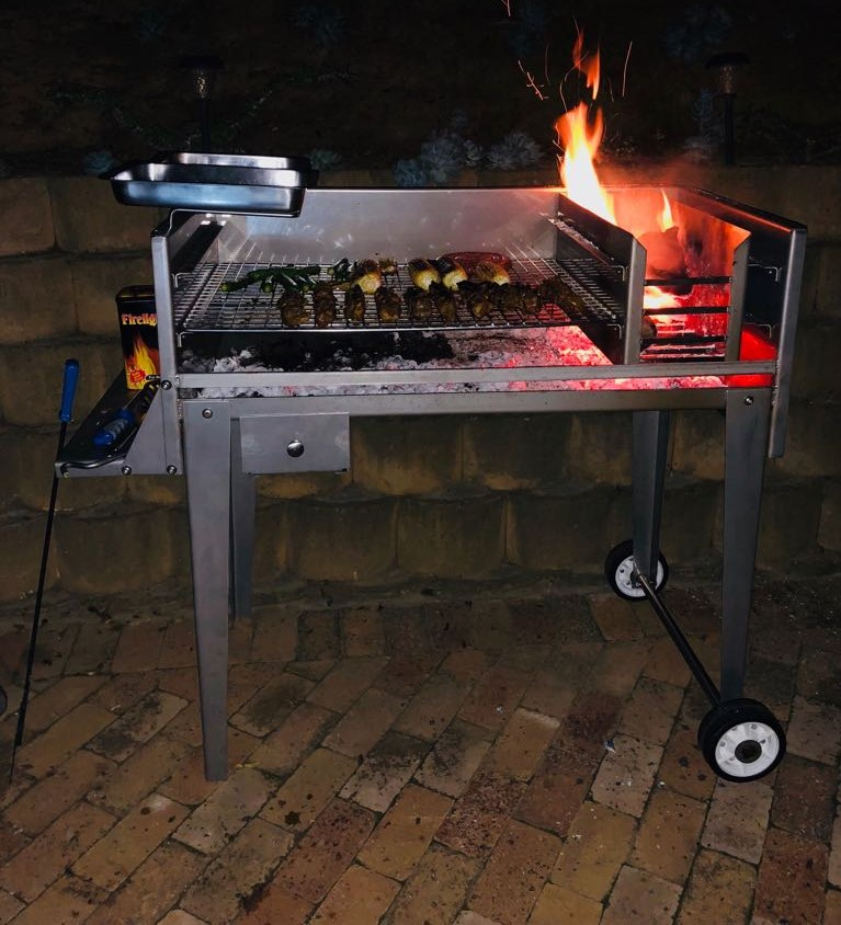 Mild Steel Patio Braai