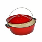 No 12 Red Bake pot