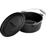 4,5 Quart camp oven cast iron pot